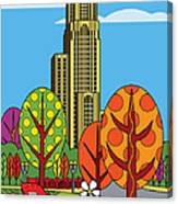 Cathedral Of Learning Canvas Print