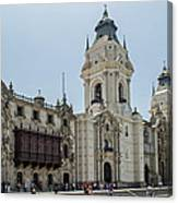 Cathedral Of Lima Canvas Print