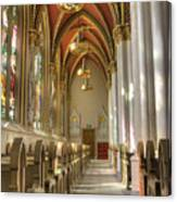 Cathedral Of Saint Helena Canvas Print
