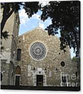 Cathedral Of San Giusto Canvas Print