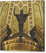 Cathedral Of The Immaculate Conception Detail - Mobile Alabama Canvas Print