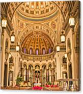 Cathedral Of The Sacred Heart 2 Canvas Print