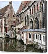 Cathedral Reflection Canvas Print