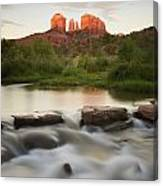 Cathedral Rock At Red Rock Canvas Print