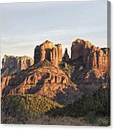 Cathedral Rock At Sunset Canvas Print