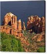 Cathedral Rock Before The Storm Canvas Print
