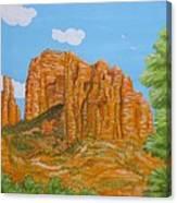 Cathedral Rock Sedona Az Right Canvas Print