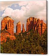 Cathedral Rock Sunset Canvas Print