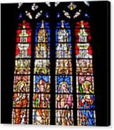 Cathedrale D'aix En Provence.france Canvas Print