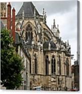 Cathedrale Saint - Cyr - Et - Sainte - Julitte De Nevers Canvas Print