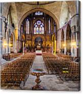 Cathedrale Saint-etienne Interior / Cahors Canvas Print