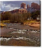 Cathedral's Dusting  Canvas Print