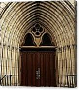 Catherdral Door's Canvas Print