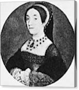 Catherine Howard (1520-1542) Canvas Print