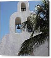 Catholic Church Playa Del Carmen Canvas Print