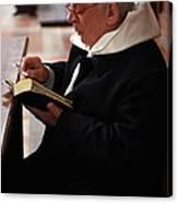 Catholic Priest Canvas Print
