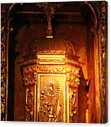 Catholic Tabernacle  Canvas Print