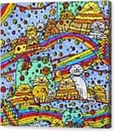Catnip Dreamzzzs Canvas Print