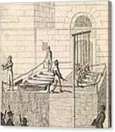 Cato Street Conspiracy Executions, 1820 Canvas Print