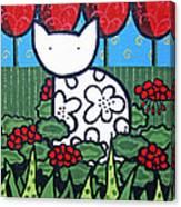 Cats 4 Canvas Print
