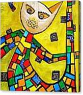 Cats 583 Canvas Print
