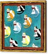 Cats Canvas Print