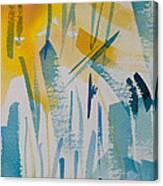 Cattail Sun Canvas Print
