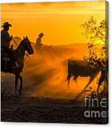 Cattle Drive 14 Canvas Print