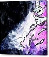 Catwoman Purple Suit Canvas Print