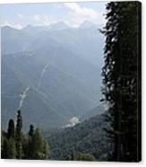Caucasus Mountains - Krasnaya - Sochi Russia Canvas Print