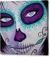 Cautivado Por La Belleza Raven Canvas Print