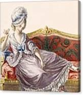 Cavaco A La Polonaise, Engraved Canvas Print