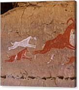 Cave Art Canvas Print