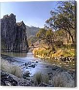 Cave Creek Gorge Canvas Print
