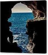 Cave Hole Canvas Print