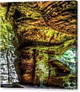 Cave Land Canvas Print