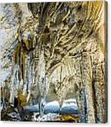 Cave Wall Formations Canvas Print