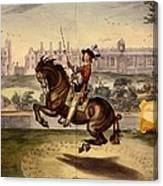 Cavendish Performing Volte Canvas Print