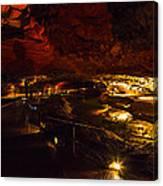 Cavern River Canvas Print