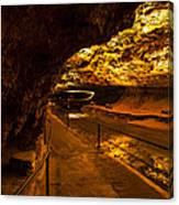 Cavern River Path Canvas Print