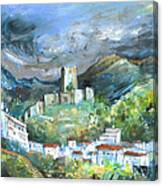 Cazorla 02 Canvas Print