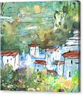 Cazorla 03 Canvas Print