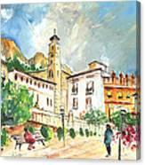 Cazorla 04 Canvas Print