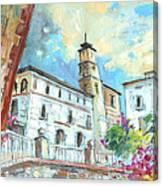 Cazorla 05 Canvas Print