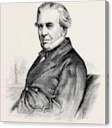 C.b. Vignoles, F.r.s Canvas Print