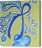 Cc Hope Canvas Print