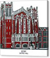 Ccny Shepard Hall Canvas Print