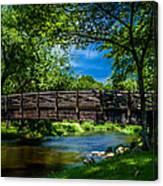 Cedar Creek Bridge Canvas Print