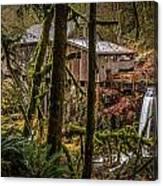 Cedar Creek Grist Mill 2 Canvas Print
