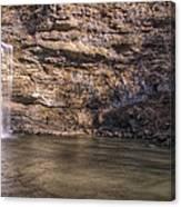 Cedar Falls At Petit Jean State Park - Arkansas Canvas Print